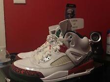 Nike Air Jordan Retro 1 2 3 4 5 6 7 Spizike OG Green Varsity Red White Size 10