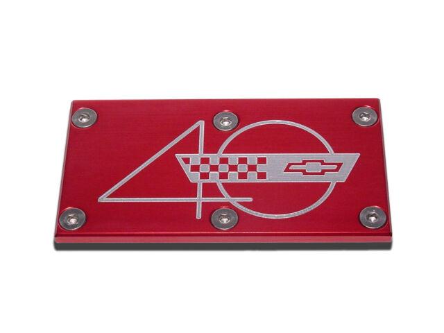 TPI Throttle Body Plate Chevy C4 Corvette 40th LT1 1993 Red