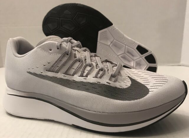 41328f1c1dbf Nike Zoom Fly Vast Grey Anthracite Running Shoes Size Men 8 women 10 ...