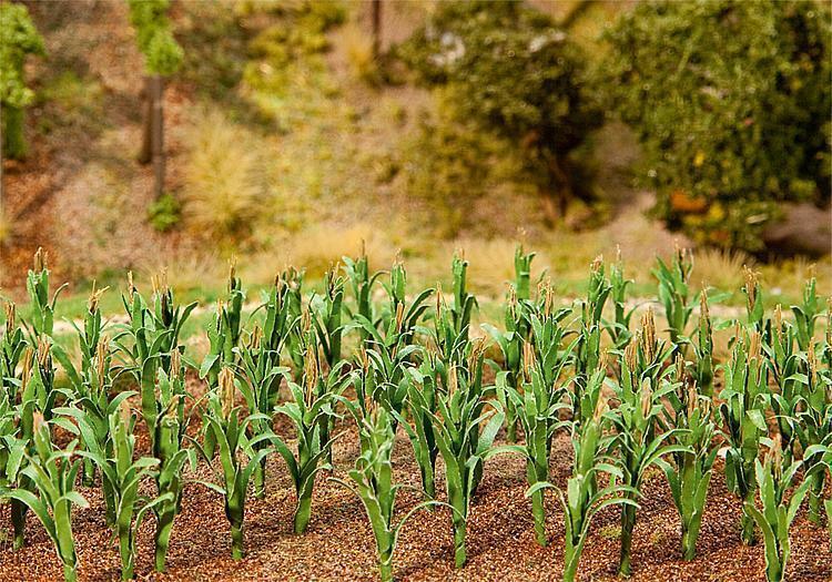 HO Gauge Scenics 181250 FALLER Maize Plants 25mm 36