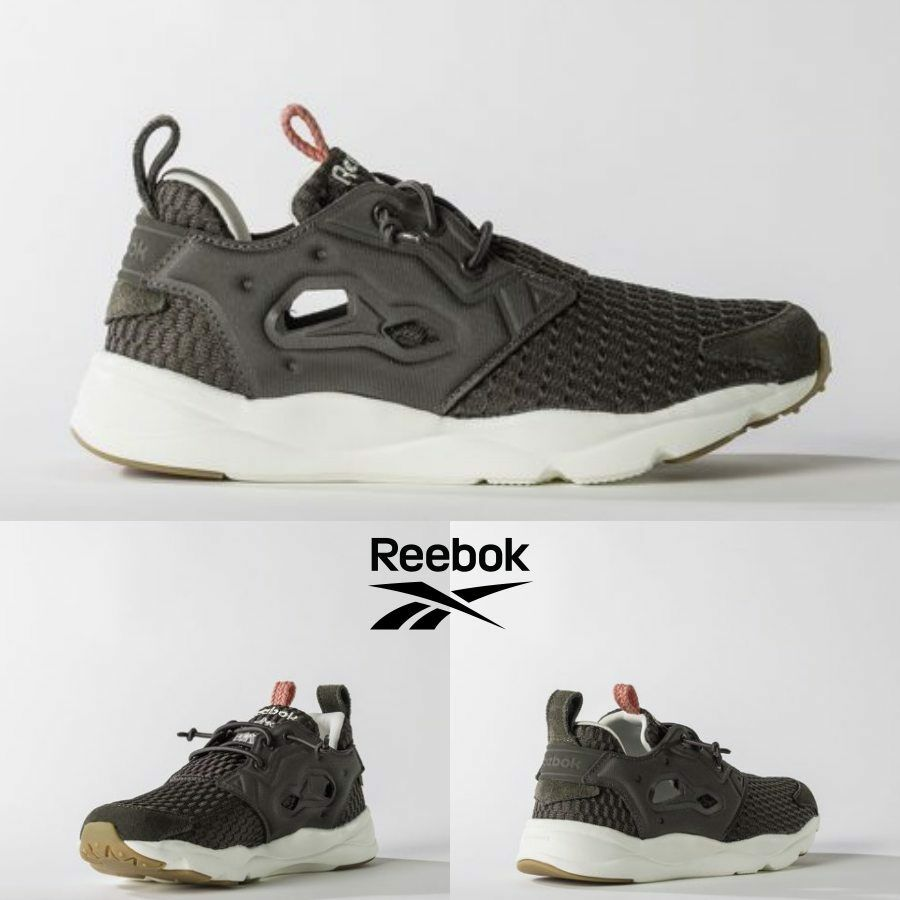 Reebok Furylite Room Runner Shoes Brown White BD1980 SZ 5-12.5 100% Authentic