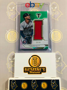 2018-Topps-Byron-Buxton-Rookie-SJR-BB3-039-d-12-18-Single-Jumbo-Relic-Jersey-MINT