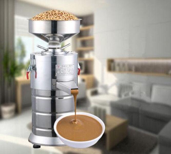 CE commercial Peanut Butter Maker SESAME beurre Fraiseuse 15kg h 1100 W