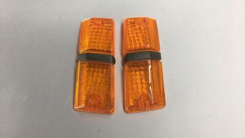 MITSUBISHI LANCER A72 Lens Turn Signal Light 1Set with sides Genuine parts NOS