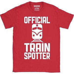Train spotter t shirt Official Trainspotter funny t shirt