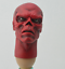 Custom 1//6 Scale Red Skull Head Sculpt For Hot Toys Figure Body