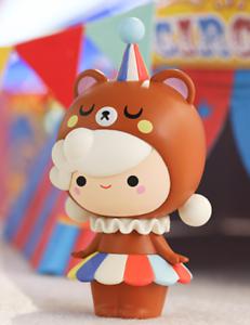 POP MART x MOMIJI Circus Series Winnie Mini Figure Designer Art Toy Figurine New