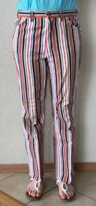 Vtg-Wrangler-Misses-Striped-Jeans-Mint-Condition-30-034-Waist-Hippy-Retro-Flare-USA