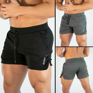 Men-Swim-Fitted-Shorts-Bodybuilding-Workout-Gym-Running-Tight-Lifting-Shorts-sm