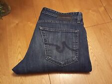 MENS ADRIANO GOLDSCHMIED THE PROTEGE STRAIGHT LEG BLUE JEANS 33 X 33 VERY NICE!