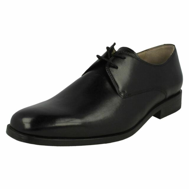 best place 2019 clearance sale on sale Clarks Amieson Walk Men's Derby Real Leather Business Shoes Black 26115290  UK 10.5