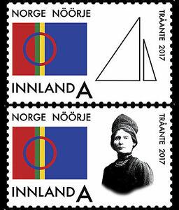 Noorwegen-2017-traante-postfris-mnh