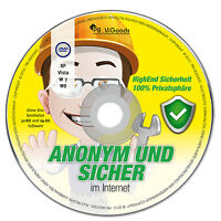 Anonym & Sicher Internet✔ Surfen Mailen Chatten✔ Live-cd/dvd✔ Version 2014✔