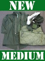 Medium Us Military Fishtail Parka Jacket Army M65 Extreme Cold Genuine