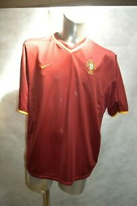 MAILLOT-FOOT-NIKE-EQUIPE-DU-PORTUGAL-TAILLE-XL-JERSEY-MAGLIA