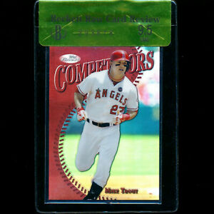 2014-Finest-Mike-Trout-10-Red-Refractor-BGS-9-5-Gem-Mint-Review-Competitors