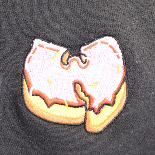 X Actual Girocollo Nero Hop Donut Fact Wu Hip Felpa Rosa gqwEaq