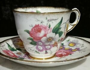 Royal Stafford England Tea Cup and Saucer