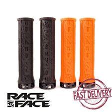 29mm Diam.//134mm length// Black Race Face Half Nelson Bike Handlebar Grips Pair