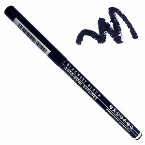 Exposed-Auto-Automatic-Twist-Up-Retractable-Kohl-Eyeliner-Liner-Blackest-Black