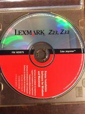 LEXMARK Z33 DRIVER TÉLÉCHARGER Z23
