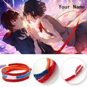 Details About Movie Kimi No Na Wa Your Name Miyamizu Mitsuha Bracelet Chain Jewelry Cosplay