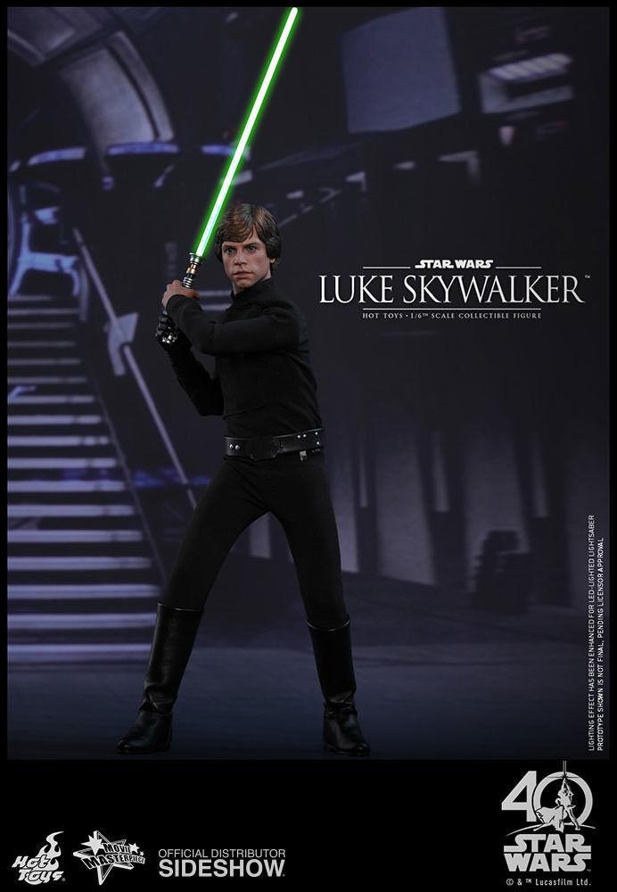 Caliente giocattoli estrella guerras Episode VI Return of the Jedi  Luke cielowalker 1 6  design semplice e generoso