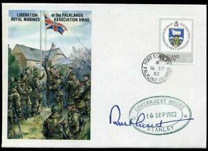 1982-Sir-Rex-Hunt-Signed-LIBERATION-OF-THE-FALKLANDS-ROYAL-MARINES-COVER