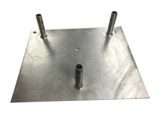 ROHN BPC55G Concrete Base Plate for 55G Guyed / Bracketed Tower - OEM. Available Now for 299.00