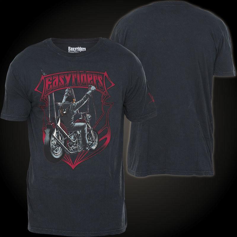 AFFLICTION T-Shirt Night Ride Schwarz T-Shirts