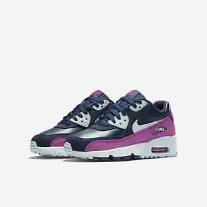 quality design 78547 cd870 Image is loading 833376-402-Nike-Air-Max-90-Leather-GS-