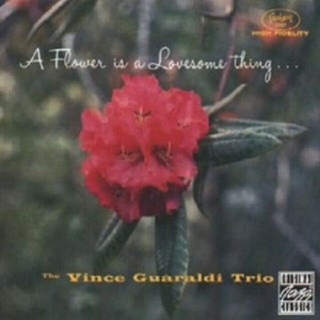 VINCE TRIO GUARALDI - A FLOWER IS A LOVESOME THING  CD NEU