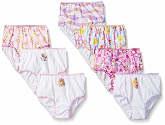 4548cd2cc8 Bubble Guppies Nickelodeon 7 Cotton Underwear Underpants Panty Toddler  Girls 4t for sale online | eBay