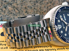 22mm Solid Stainless Steel Jubilee Replacement Bracelet For SRP773 777 SKX007