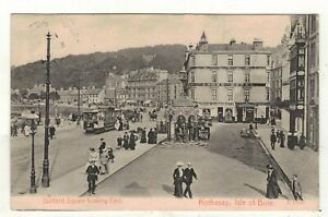 ROTHESAY-ISLE-OF-BUTE-GUILDFORD-SQUARE-1905-OLD-PRINTED-POSTCARD