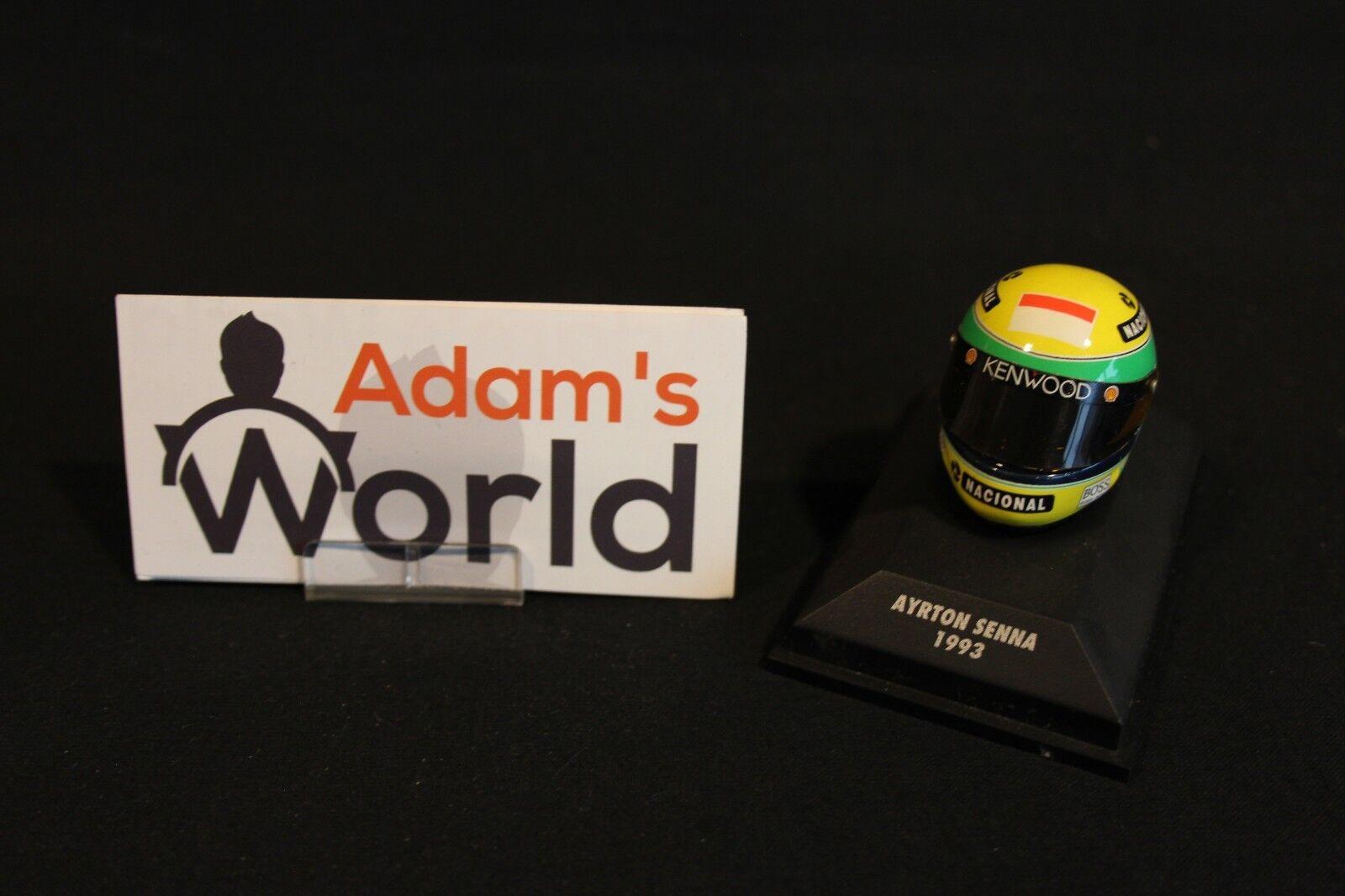 Minichamps Helmet Ayrton Senna (BRA) 1993 1 8 McLaren F1 (MM1)