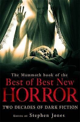 1 of 1 - TheMammoth Book of the Best of Best New Horror by Jones, Stephen ( Author ) ON M
