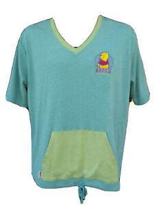 Vintage-The-Disney-Store-Winnie-The-Pooh-Womens-XL-Shirt-Embroidered-90s-Hip-Hop