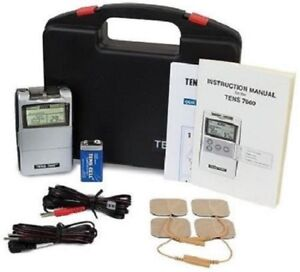 TENS-7000-Digital-Back-Pain-Relief-System-Unit-For-Muscle-amp-Joint-Aches-OTC-NEW