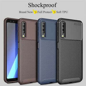 reputable site a084d 6690d Details about For Samsung Galaxy J4+ J6+ Plus A7 2018 A750 Shockproof Soft  TPU Back Case Cover