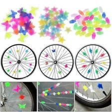 36pc Bicycle Bike Wheel Plastic Spoke Bead Children Kids Clip Colored Deco ki