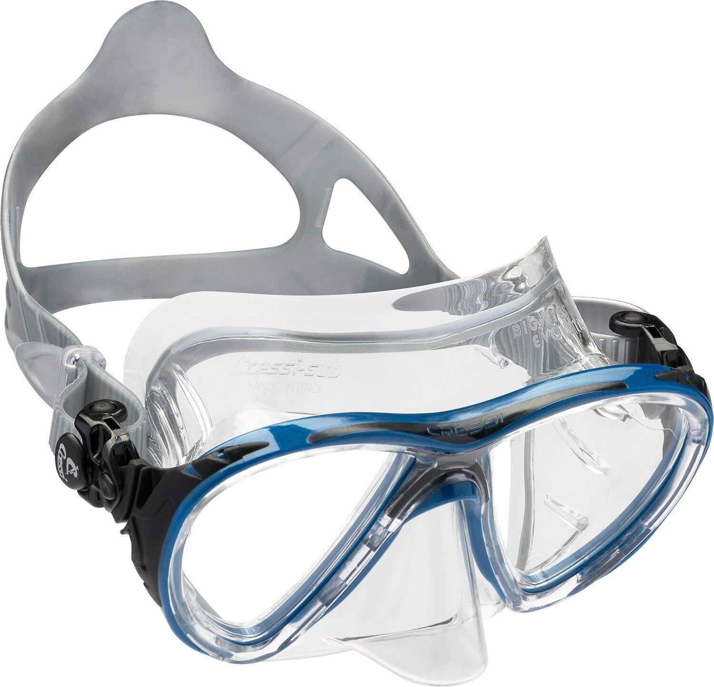Cressi Tauchmaske Big Eyes Evolution Crystal, Taucherbrille  | Moderner Modus