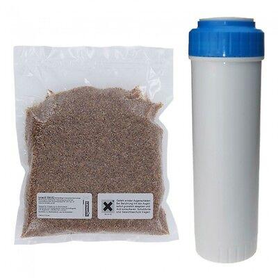 """Mischbettharz - IONAC NM-60 - 750 ml + passende Filter Patrone 10"""" GRATIS"""