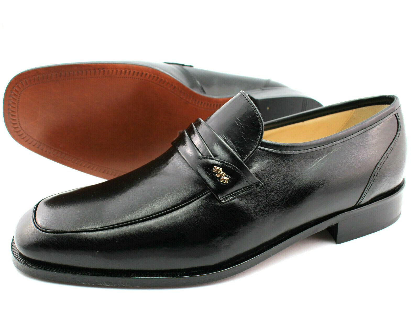 Herren Leder Schuhe Castellanos Penny Loafer Slipper Business schuhe Mokassins