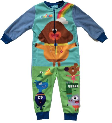 Hey Duggee Boys Pyjamas All In One Sleepsuit Cbeebies Hey Duggee Sleepwear