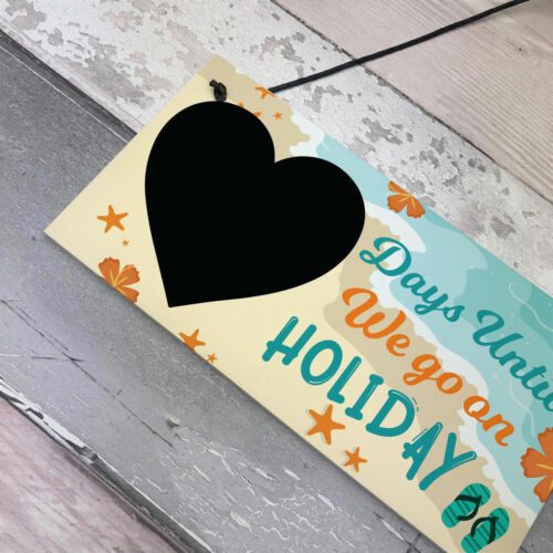 Chalkboard Days Until Holiday Countdown Sign Novelty Holiday Travel Accessories