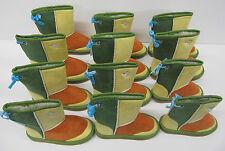 Girls Boots 6 pair wholesale lot LED FLASHING LIGHTS multicolour children's snug