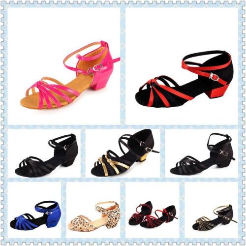 Ladies Professional Ballroom Dance Shoes Latin Salsa Tango adjustable