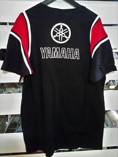 T-SHIRT YAMAHA B080B2821L9A LOGO UOMO TG XL NERO