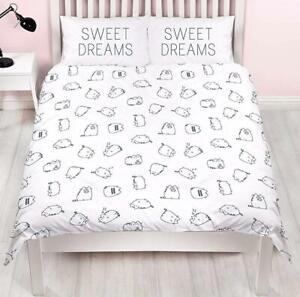 Official Pusheen Sweet Dreams Single/Double/King Reversible Duvet Cover Bed Set